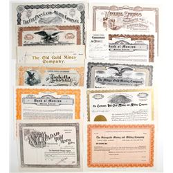 Colorado Mining Stock Certificates (11)