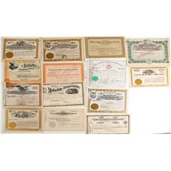 Colorado Mining Stock Certs. (14)