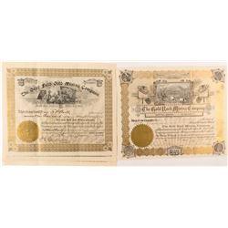 Gold Mining Stock Certificates (4)