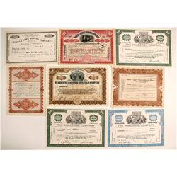 Montana Mining Certificates (9)