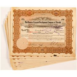 MacNamara Crescent Development Company of Nevada Certificates