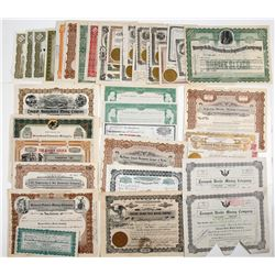 Tonopah, NV-related Mining Stock Certificates
