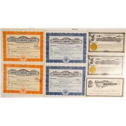 Nevada Mining Certificates (7)