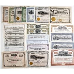 Utah-Related Mining Stock Certificates