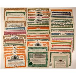 Canadian Oil Stock Certificates
