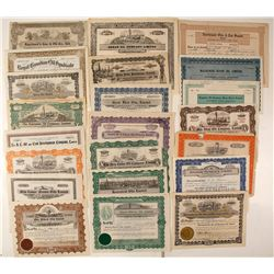 Canadian Oil Stock Certificates - Pre 1929