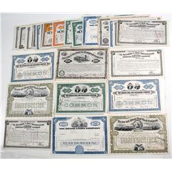 Railroad and Navigation Stocks and Bonds