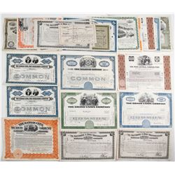 Railroad Stock and Bond Collection