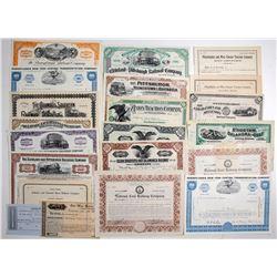 Railroad Stocks and Ephemera