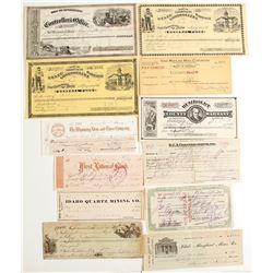 California & Nevada Checks & Warrants