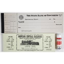 Montana Collectibles incl. checks