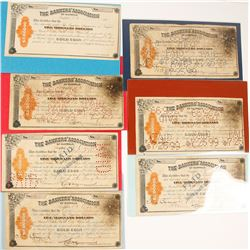 Bankers Association of Buffalo Gold Coin Certificates of Deposit