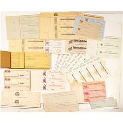 Unissued Check Collection