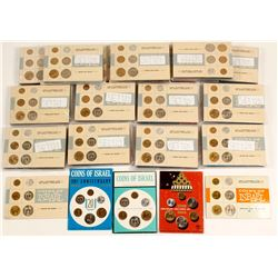 80  Israeli Mint Coin Sets 1965-1969