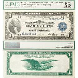 New York Fed Reserve Bank, First Series $1