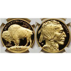 US $50 Buffalo, 2016, MS70