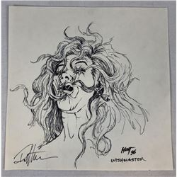 Wishmaster (1997) - Creepy Woman Concept Artwork