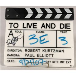 Deadly Impact (2010) - Original Production Used Director's Slate - Signed by Robert Kurtzman