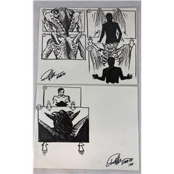 Tales from the Darkside: The Movie (1990) - Original Hand Drawn Storyboards - Set of 2 lot B