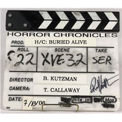 Buried Alive (2007) - Original Production Used Director's Slate