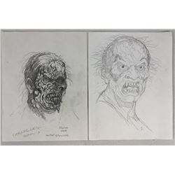 The Rage (2007) - Mutant Grandpa Concept Art - Set of Two