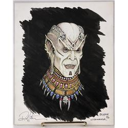 Wishmaster (1997) - Djinn Color Concept Art