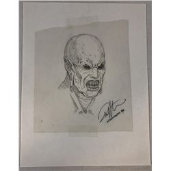 Wishmaster (1997) - Djinn Head Concept Art