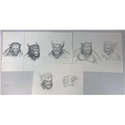 Joseph Hahn (Linkin Park) Creature Designs Original Concept Art Collection