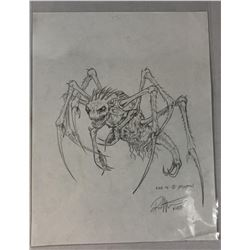 Bug Creature Original Concept Art by KNB FX - Lot A
