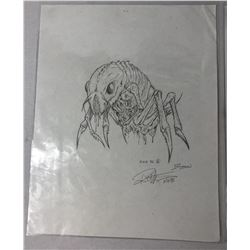 Bug Creature Original Concept Art by KNB FX - Lot B
