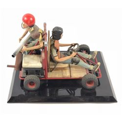 """Junk"" - Wes Craven - Prop Go-Kart with Children Model"