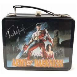 Army of Darkness (1992) - Robert Kurtzman Signed Lunch Box & Thermos