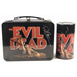The Evil Dead (1981) - Robert Kurtzman Signed Lunch Box & Thermos
