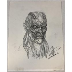 Wishmaster (1997) - Djinn Head Concept Artwork - Set of 3