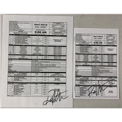 Don't Kill It (Dolph Lundgren 2016) - Collection of Signed Call Sheets
