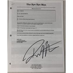 The Bye Bye Man (2017) - Signed Memorandum