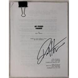 My Friend Dahmer (2018) - Original Robert Kurtzman Signed Script