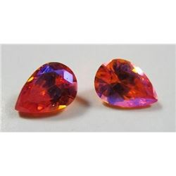 2.5 ct. Topaz Mystic Mars Matched Pair