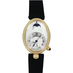 BREGUET Reine de Naples Power Reserve Yellow Gold Diamond Watch