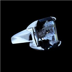 24.90CT NATURAL BIO TOURMALINE 14K W/G RING