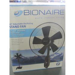 Bionair 16 inch adjustable oscillating Stand Fan