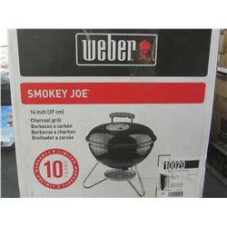 New Weber Smokey Joe Charcoal  BBQ