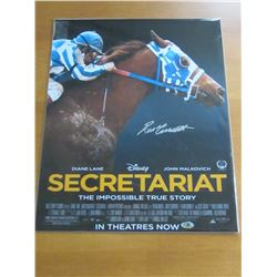 Ron Turcotte hand signed Secretariat 16 x 20 photo with COA