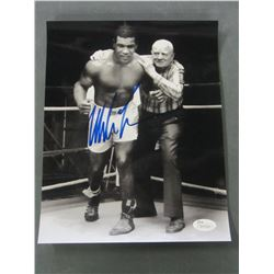Mike Tyson Hand Signed Photo 8 x 10