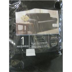 New 1 piece Stretch Love Seat  Slip Cover fits most full size Love seats