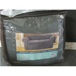 """New 1 piece Stretch Sofa slip cover / fits most Sofas up to 96"""" wide"""