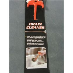 New Drain cleaner / Easy to use - pulls hair and clogs out easily