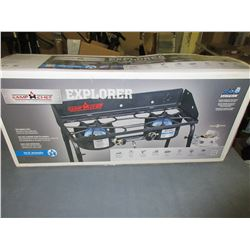 New Camp Chef Explorer Two Burner Stove / Excellent for camping