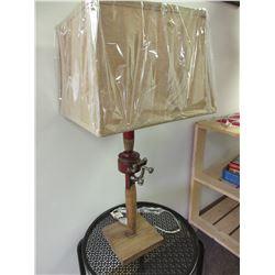 Fishing Rod Lamp with new LED Cobb lightbulb