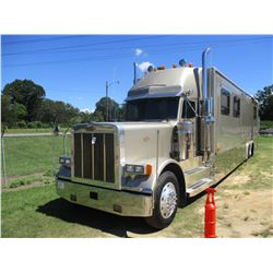 1999 PETERBILT KINGSLY MOTOR COACH, VIN/SN:1XP5DB9X5XN492364 - 500 HP, CAT 3406 ENGINE, 10 SPEED, MA
